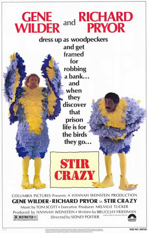 Stir Crazy Movie Posters From Movie Poster Shop