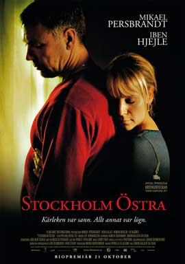 Stockholm Ostra - 43 x 62 Movie Poster - Swedish Style A