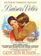 Stolen Kisses - 11 x 17 Movie Poster - French Style B