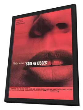 Stolen Kisses - 27 x 40 Movie Poster - Style A - in Deluxe Wood Frame