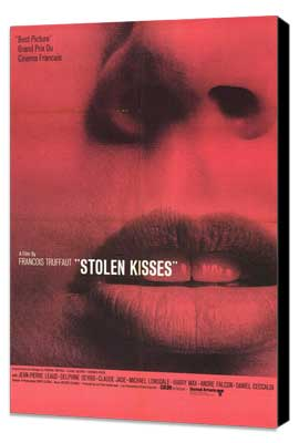 Stolen Kisses - 27 x 40 Movie Poster - Style A - Museum Wrapped Canvas