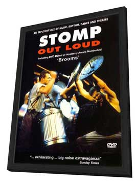 Stomp Out Loud - 27 x 40 Movie Poster - UK Style A - in Deluxe Wood Frame