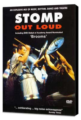 Stomp Out Loud - 27 x 40 Movie Poster - UK Style A - Museum Wrapped Canvas