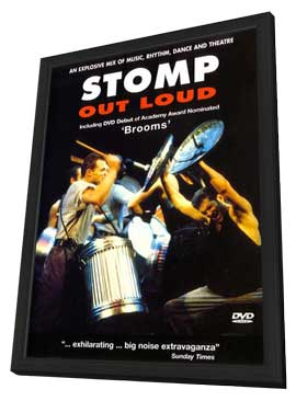 Stomp Out Loud - 11 x 17 Movie Poster - UK Style A - in Deluxe Wood Frame