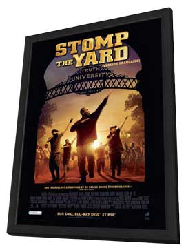 Stomp the Yard - 27 x 40 Movie Poster - Style C - in Deluxe Wood Frame