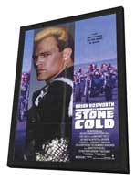 Stone Cold - 11 x 17 Movie Poster - Style B - in Deluxe Wood Frame