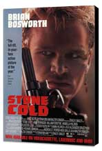 Stone Cold - 27 x 40 Movie Poster - Style A - Museum Wrapped Canvas