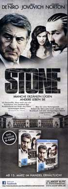 Stone - 14 x 36 Movie Poster - German Style A