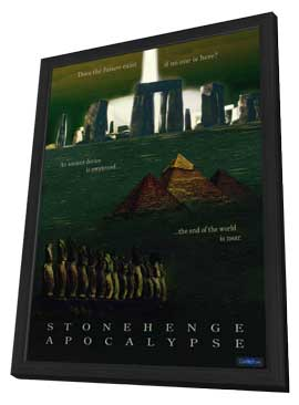 Stonehenge Apocalypse (TV) - 11 x 17 Movie Poster - Style A - in Deluxe Wood Frame