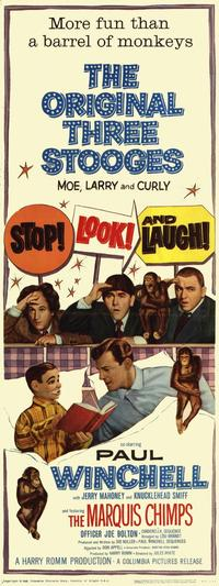 Stop Look and Laugh - 11 x 17 Movie Poster - Style B