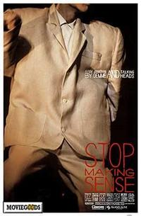 Stop Making Sense - 43 x 62 Movie Poster - Bus Shelter Style A