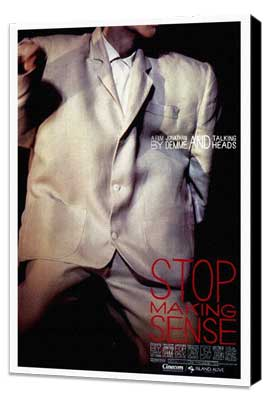 Stop Making Sense - 27 x 40 Movie Poster - Style A - Museum Wrapped Canvas