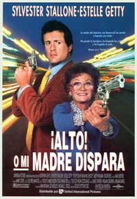 Stop! Or My Mom Will Shoot - 27 x 40 Movie Poster - Spanish Style A