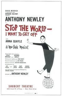 Stop the World I Want to Get Off (Broadway) - 11 x 17 Poster - Style A