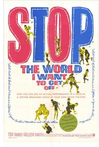 Stop the World I Want to Get Off - 27 x 40 Movie Poster - Style A