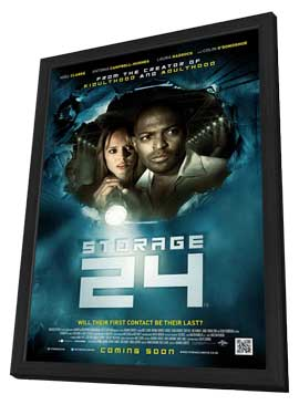 Storage 24 - 11 x 17 Movie Poster - Style A - in Deluxe Wood Frame