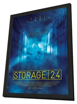 Storage 24 - 11 x 17 Movie Poster - Style B - in Deluxe Wood Frame