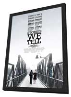 Stories We Tell - 27 x 40 Movie Poster - Style A - in Deluxe Wood Frame