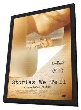 Stories We Tell - 11 x 17 Movie Poster - Canadian Style A - in Deluxe Wood Frame