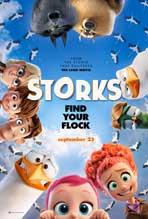 """""""Storks"""" Movie Poster"""