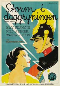 Storm at Daybreak - 43 x 62 Movie Poster - Swedish Style A