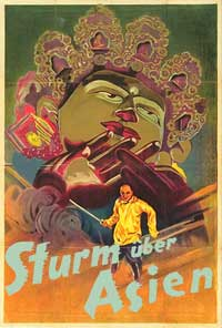 Storm over Asia - 11 x 17 Movie Poster - German Style A