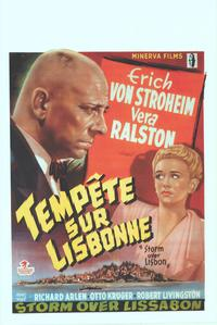 Storm Over Lisbon - 14 x 22 Movie Poster - Belgian Style A