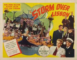 Storm Over Lisbon - 22 x 28 Movie Poster - Style A