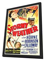 Stormy Weather - 11 x 17 Movie Poster - Style A - in Deluxe Wood Frame
