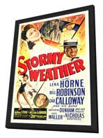 Stormy Weather - 27 x 40 Movie Poster - Style A - in Deluxe Wood Frame