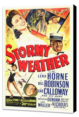 Stormy Weather - 27 x 40 Movie Poster - Style A - Museum Wrapped Canvas