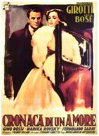 Story of a Love Affair - 11 x 17 Movie Poster - Italian Style A