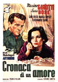 Story of a Love Affair - 11 x 17 Movie Poster - Italian Style B