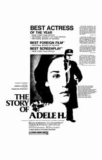 The Story of Adele H. - 11 x 17 Movie Poster - Style B