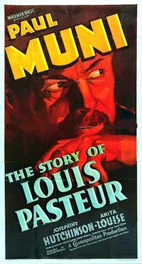 The Story of Louis Pasteur - 11 x 17 Movie Poster - Style C