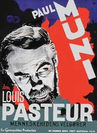 The Story of Louis Pasteur - 11 x 17 Movie Poster - Danish Style A