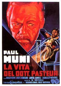 The Story of Louis Pasteur - 11 x 17 Movie Poster - Italian Style A
