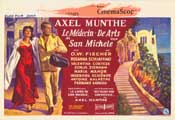 Story of San Michele - 11 x 17 Movie Poster - Belgian Style A