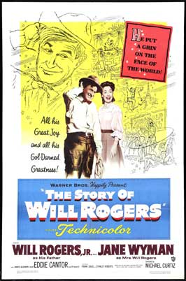 Story of Will Rogers - 27 x 40 Movie Poster - Style A