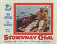Stowaway Girl - 11 x 14 Movie Poster - Style G