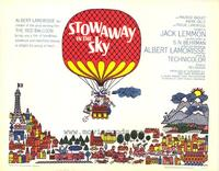 Stowaway in the Sky - 27 x 40 Movie Poster - Style B