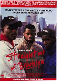 Straight out of Brooklyn - 11 x 17 Movie Poster - Style A