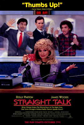 Straight Talk - 27 x 40 Movie Poster - Style A