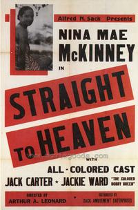 Straight to Heaven - 27 x 40 Movie Poster - Style A