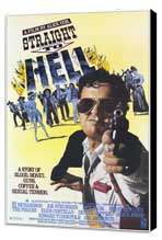 Straight to Hell - 27 x 40 Movie Poster - Style A - Museum Wrapped Canvas