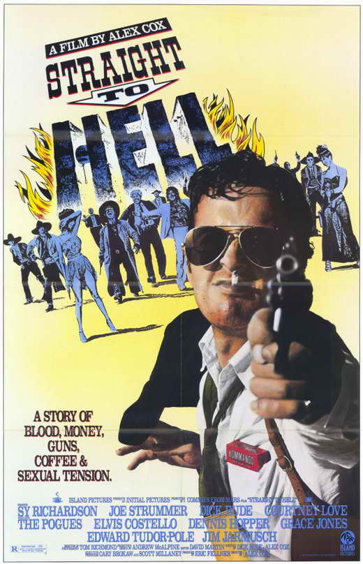 straight to hell movie poster 1987 1020237518 Gangster Squad Movie We've got our hands on the UK TV spot of Gangster Squad ...