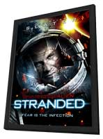 Stranded - 11 x 17 Movie Poster - Style A - in Deluxe Wood Frame