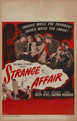 Strange Affair - 11 x 17 Movie Poster - Style A