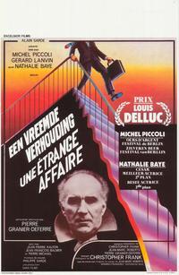 Strange Affair - 27 x 40 Movie Poster - Belgian Style A