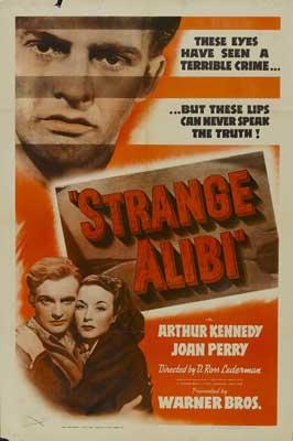 Strange Alibi - 27 x 40 Movie Poster - Style A